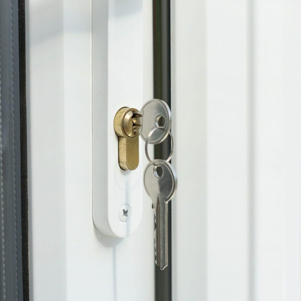 UPVC Door lock change